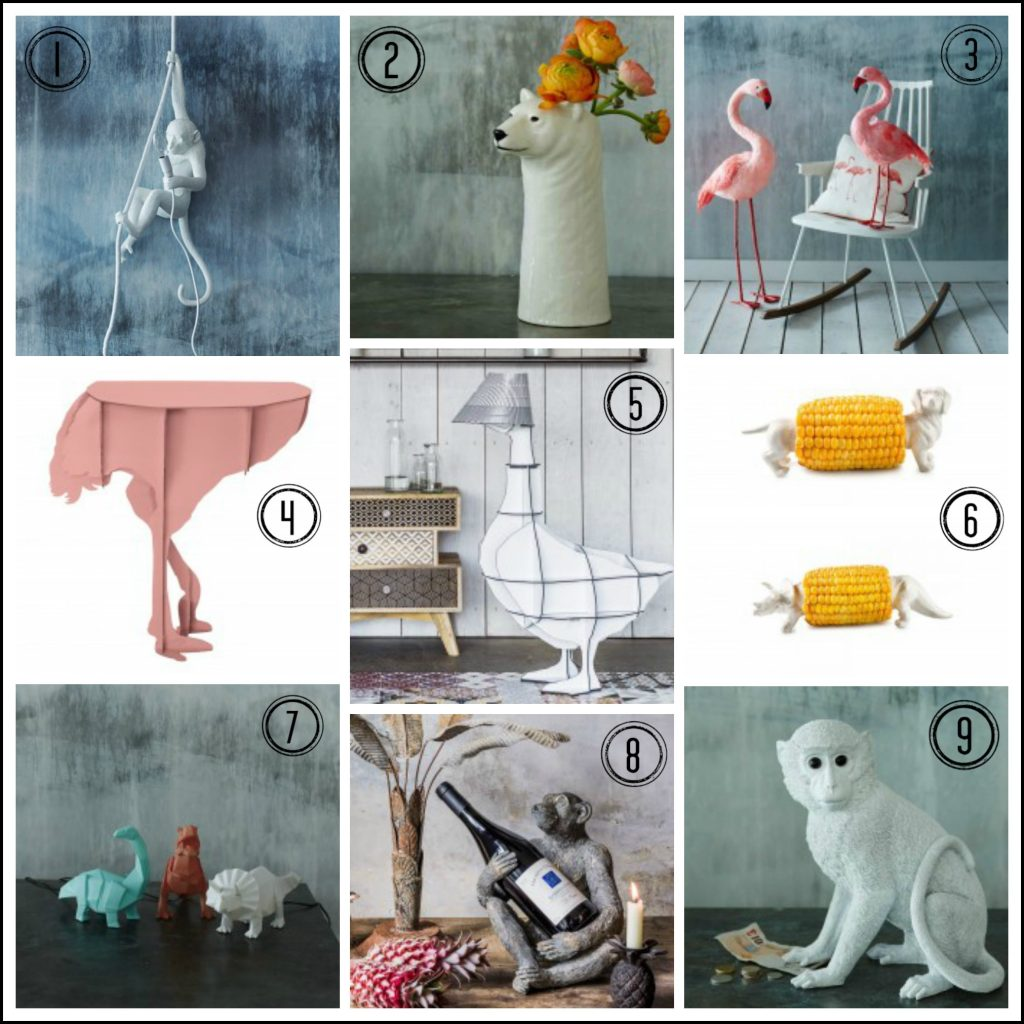 Lots of fun and quirky animal themed pieces that you never knew you needed!