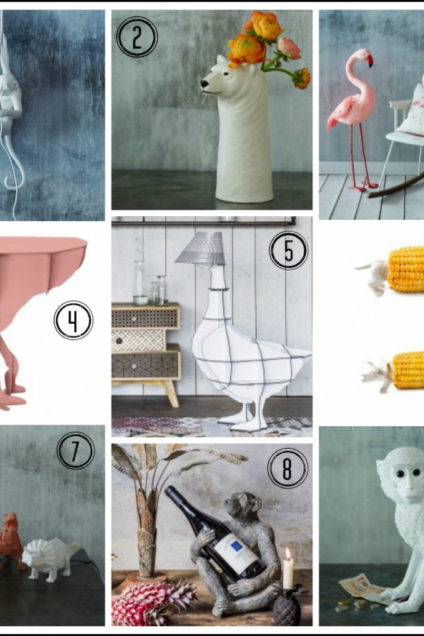 Animal magic: Quirky homeware finds from Graham and Green