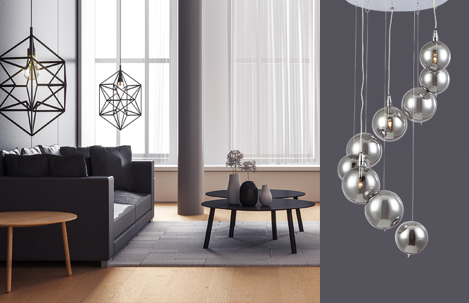 Give your home a new look with some stunning contemporary lights