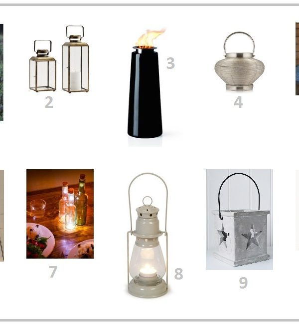 Light up your life: 10 outdoor lighting ideas