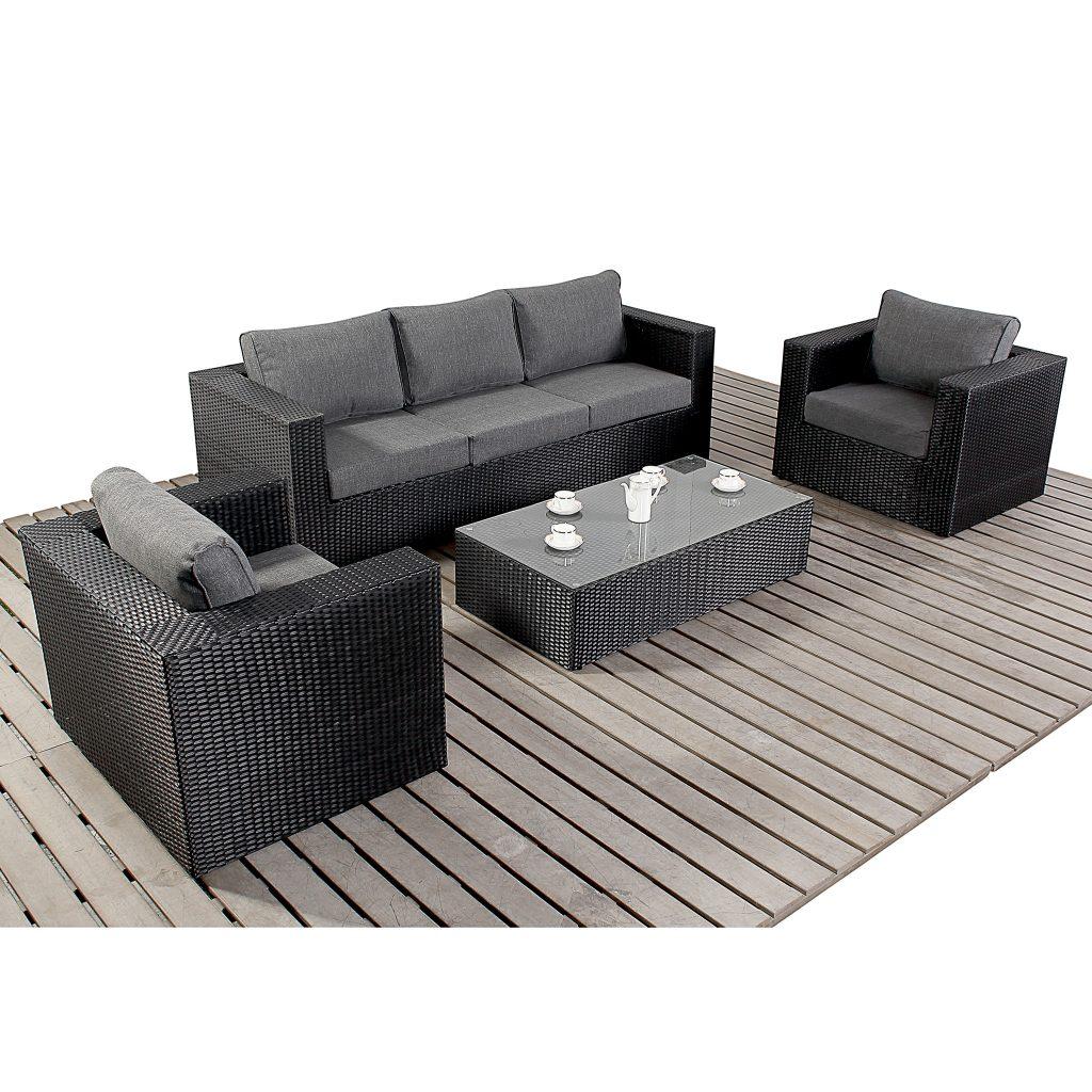Luxury garden or conservatory sofa set