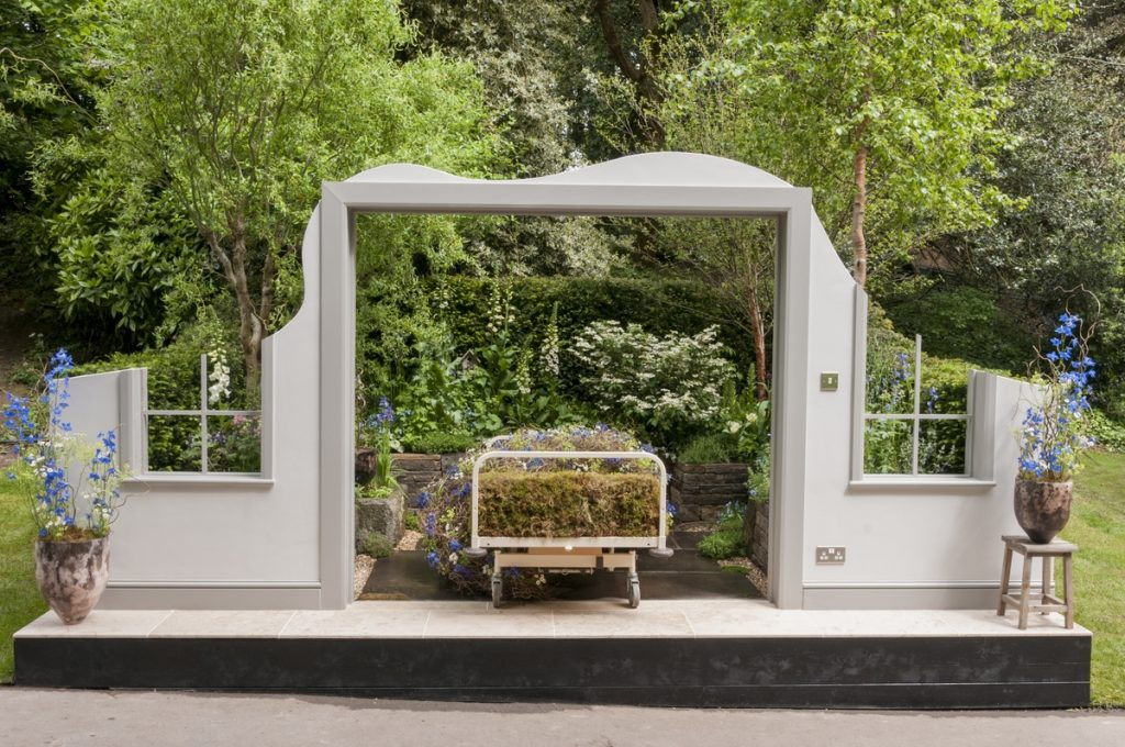 The Garden Bed, a partnership with Asda. Designed by Stephen Welch and Alison Doxey. RHS Chelsea Flower Show 2016