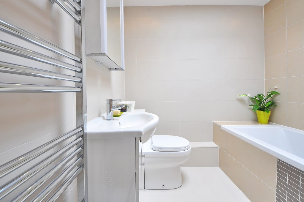 Add value to your home by installing a brand new modern bathroom
