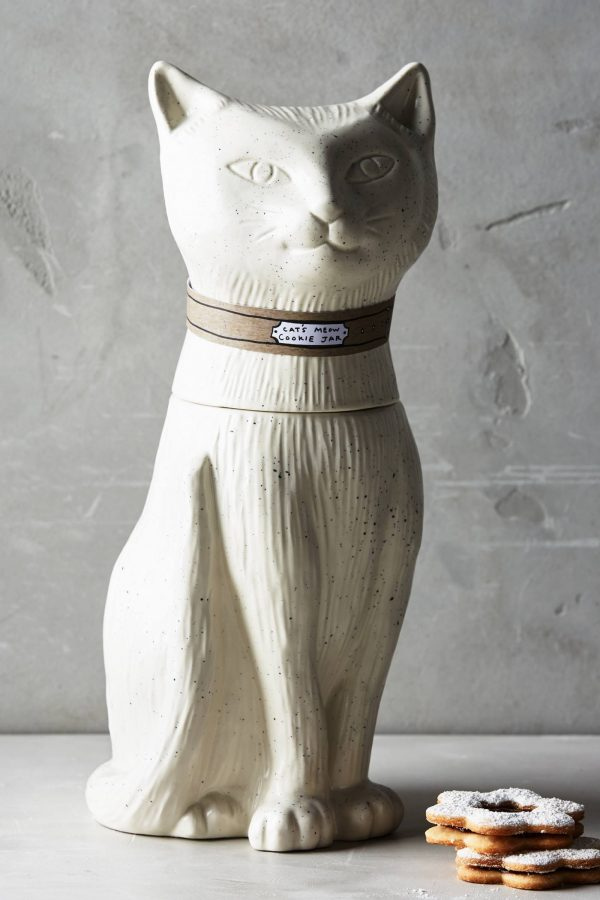 Fresh Design finds: Contented cat cookie jar