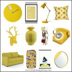 Home accent colours: A pop of mellow yellow