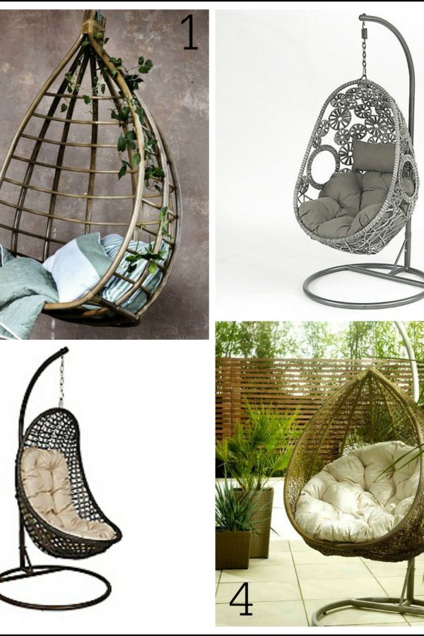 Relax in style: Gorgeous hanging chairs for your garden
