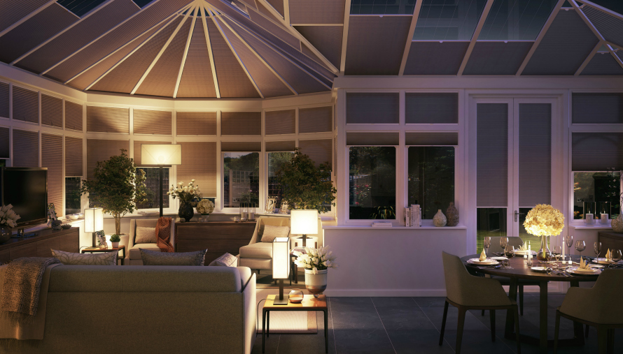 Transform your conservatory into a room you can use day and night
