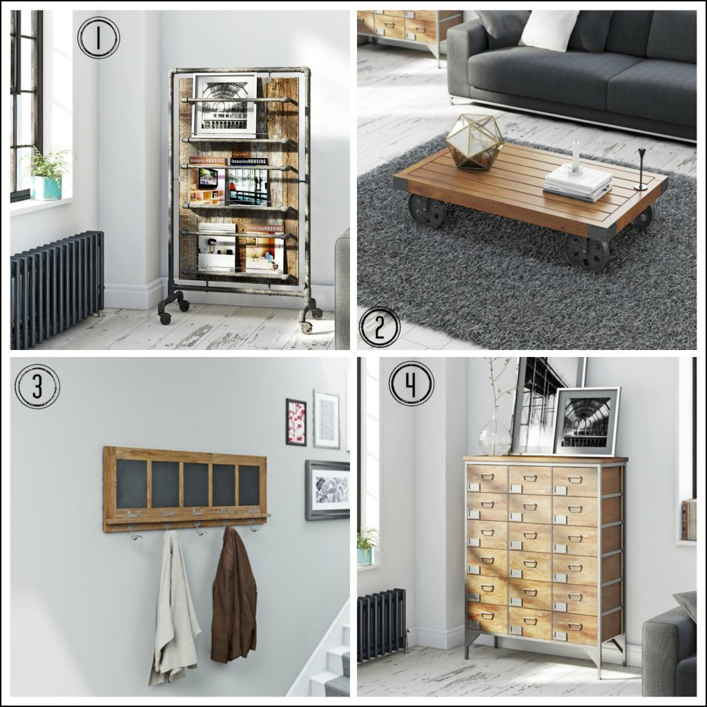 Industrial style home furniture ideas to make decorating easy
