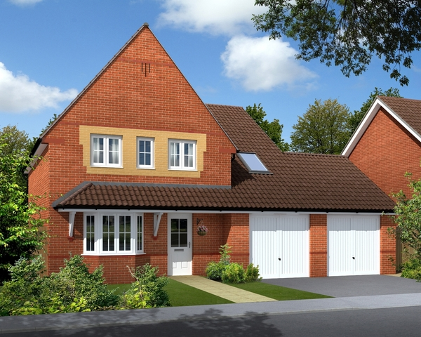 The Orchards Barratt West Midlands new home development