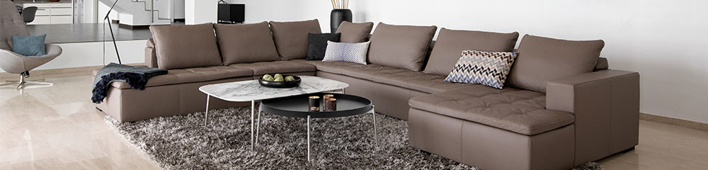 The Mezzo designer sofa - perfect for lounging around on