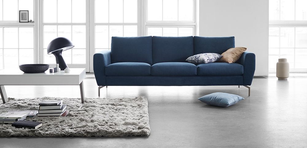 Elegant and super comfortable Monaco designer sofa - perfect for a contemporary home