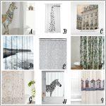 Fresh Design Finds: Stylish shower curtains