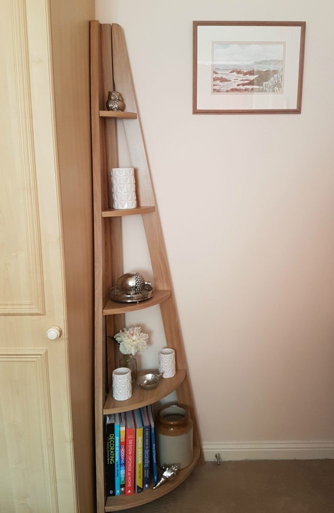 Quinn Contemporary Corner Ladder Style Bookcase From Matalan Fresh Design Blog