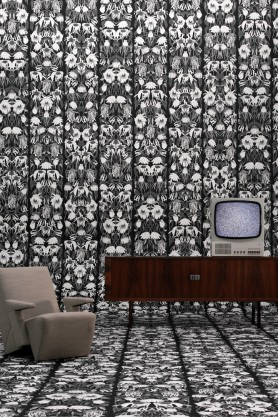 Studio job NLXL archives black and white withered flowers wallpaper