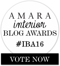 Vote for Fresh Design Blog as Best Design Inspiration Blog in the Amara Interior Blog Awards 2016 IBA