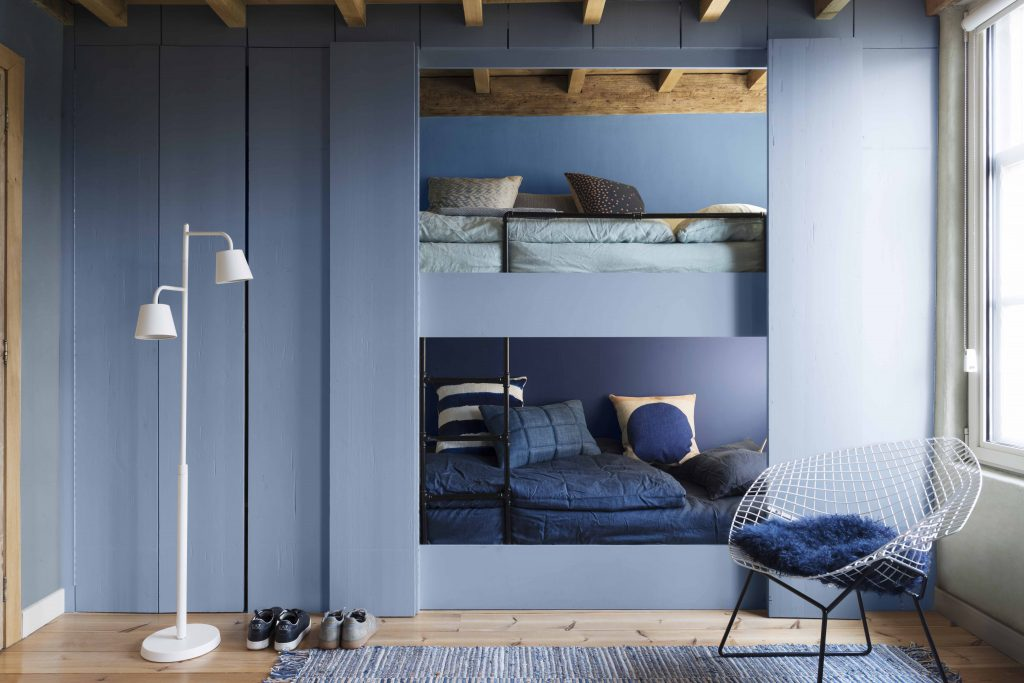 Denim drift dulux paint colour of the year 2017 fresh for Dulux childrens bedroom ideas