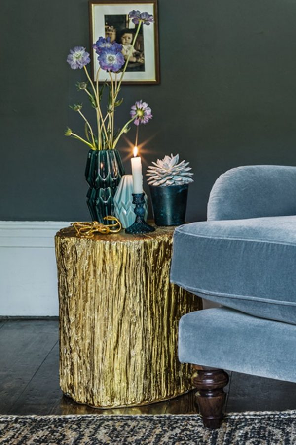 Fresh Design finds: Gorgeous metallic gold furniture and accessories
