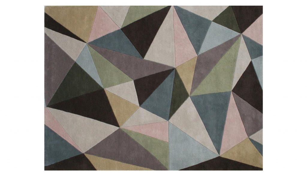 Contemporary Mirina rug by Linie Design