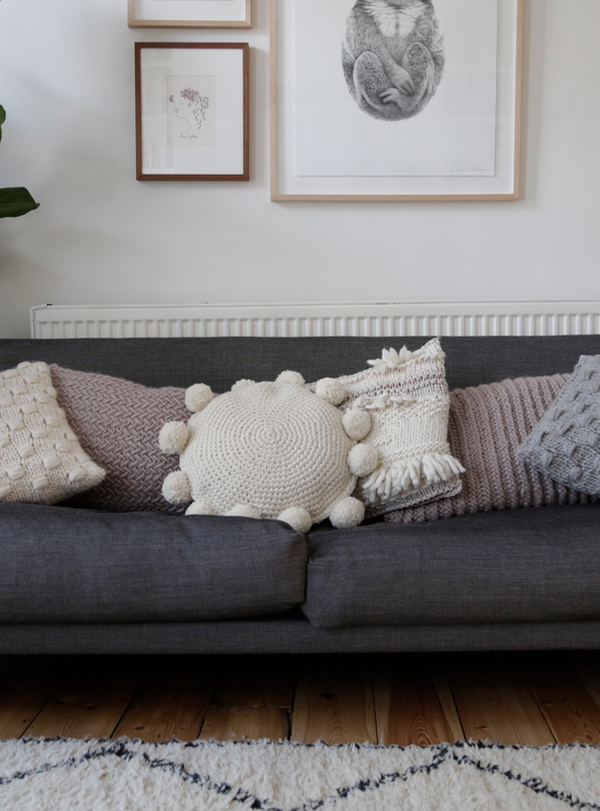 Product review: Wool and the Gang knitted cushion kit