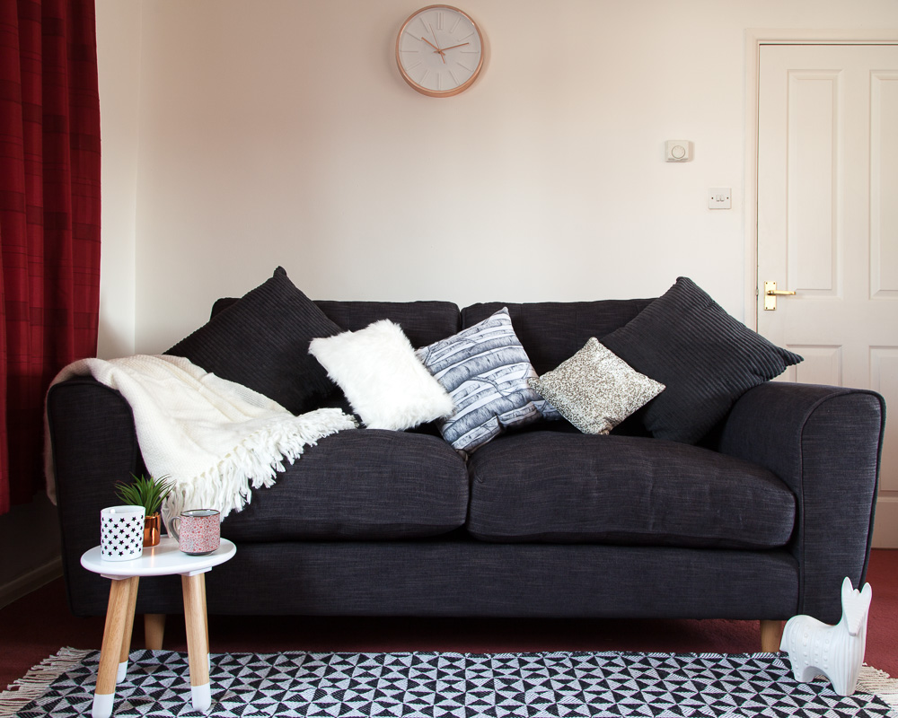 @freshdesignblog's cover photo for 'Family living room makeover with Dfs'