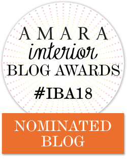 Fresh Design nominated in 2018 Amara Interior Design Blog Awards