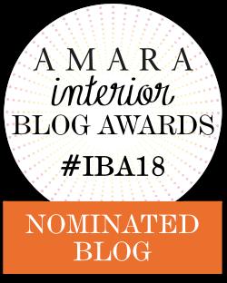 Fresh Design nominated in 2018 Amara Interior Design Blog Awards