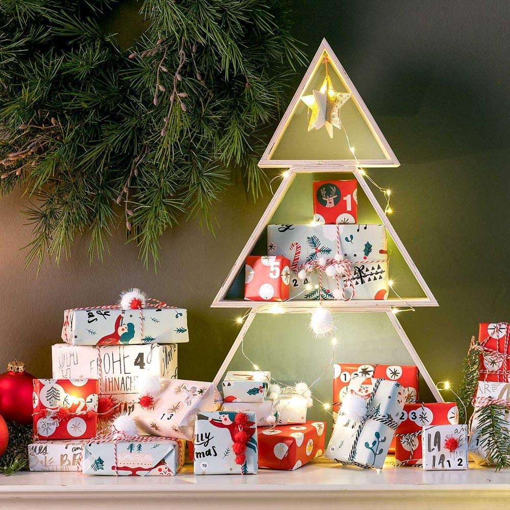 The Christmas Tree Shelf Clever Decoration Display Ideas Fresh